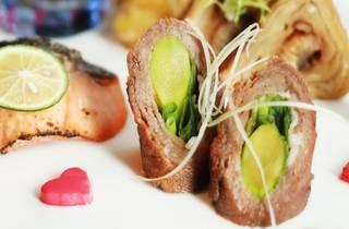 Tatsu Valentine's Day menu