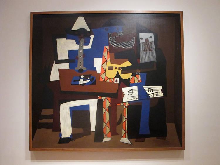 Three Musicians (1921)