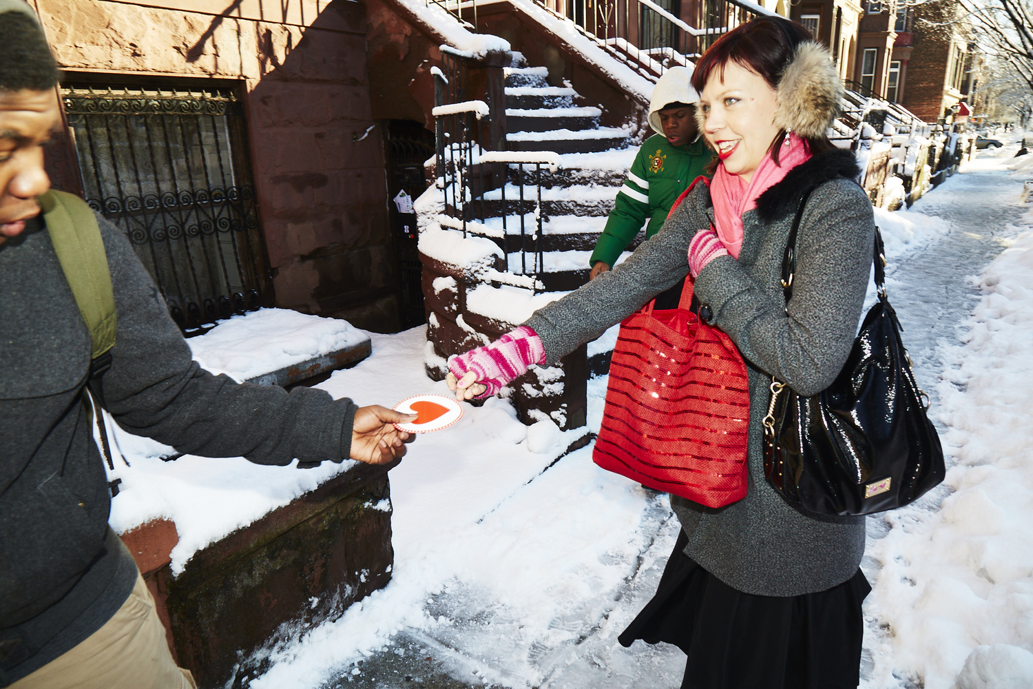 Join an Army of Lovers to hand out valentines to strangers