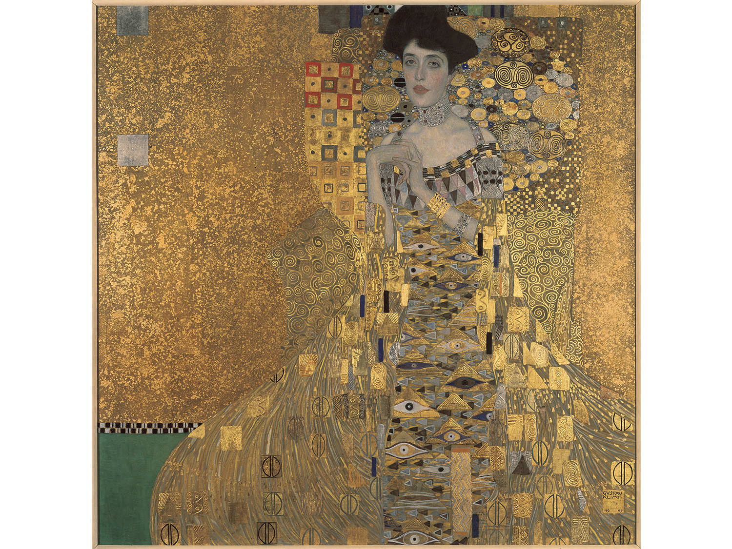 Gustav Klimt Adele Bloch-Bauer I, 1907. Oil, silver, and gold on canvas.