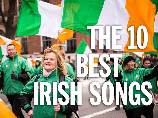 The top 10 Irish songs for St. Patrick's Day