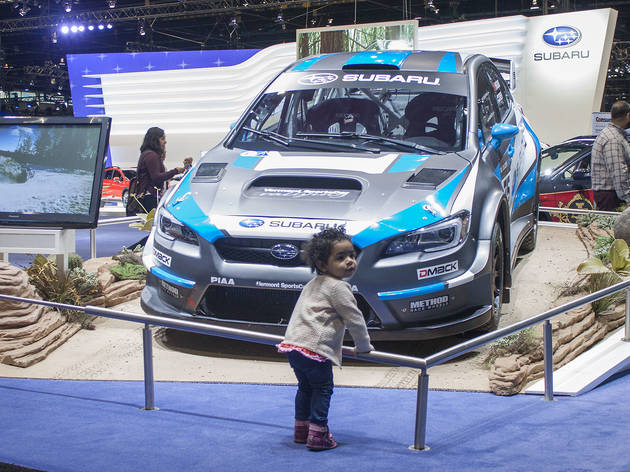 The Chicago Auto Show displayed the latest cars, trucks and SUVs, February 12, 2016.