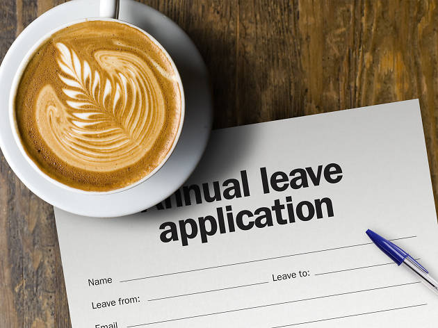 Annual leave application