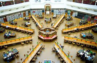 La Trobe Reading Room in State Library of Victoria