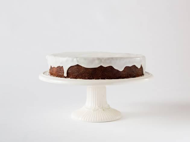 Flour and Stone Lemon drizzle cake