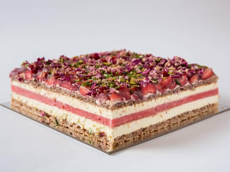 Black Star Pastry Strawberry watermelon cake