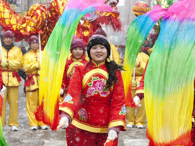 The Chinatown Lunar New Year Parade capped off a week of celebrations, February 14, 2016.