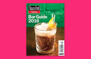 Time Out Sydney Bar Guide cover