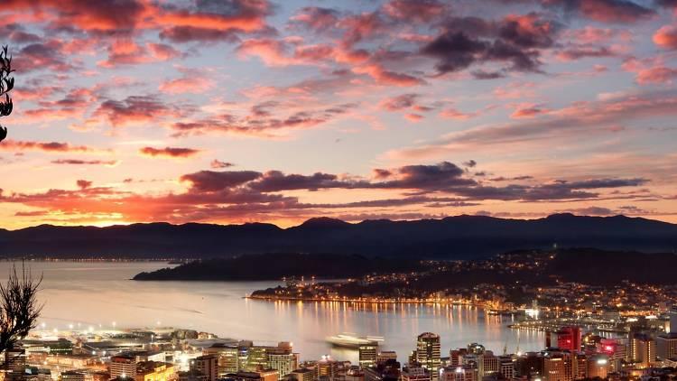Wellington at dusk