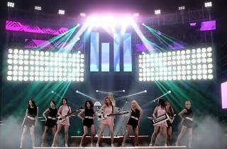 K-live Sentosa Wonder Girls hologram