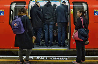 Tube delays caused by overcrowding have doubled since 2013