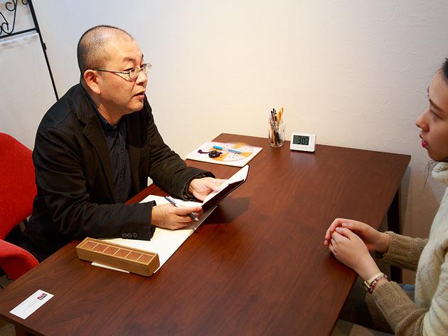 下北沢でJOJO広重先生に占ってもらった