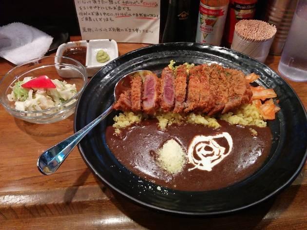 European Beef Katsu Curry