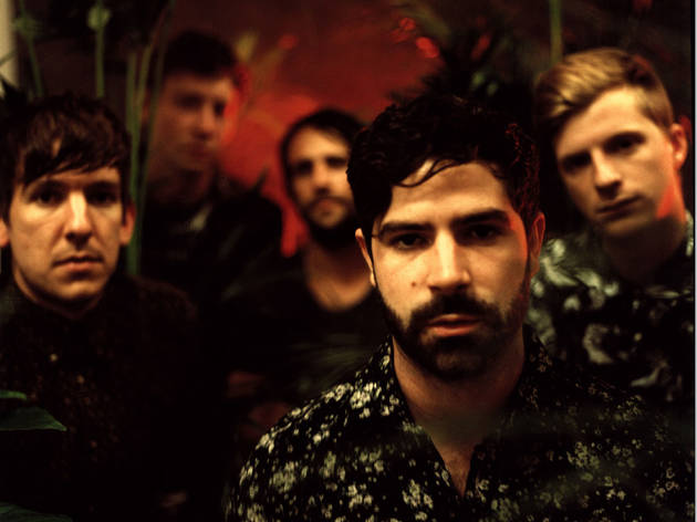 Foals' Yannis Philippakis on the road to Wembley Arena
