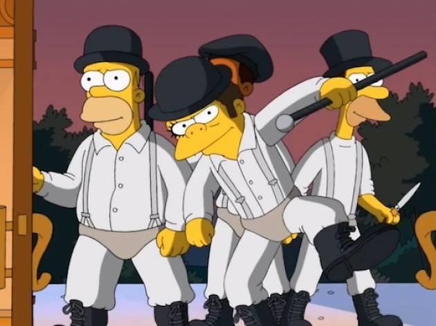 Simpsons - Orange mécanique