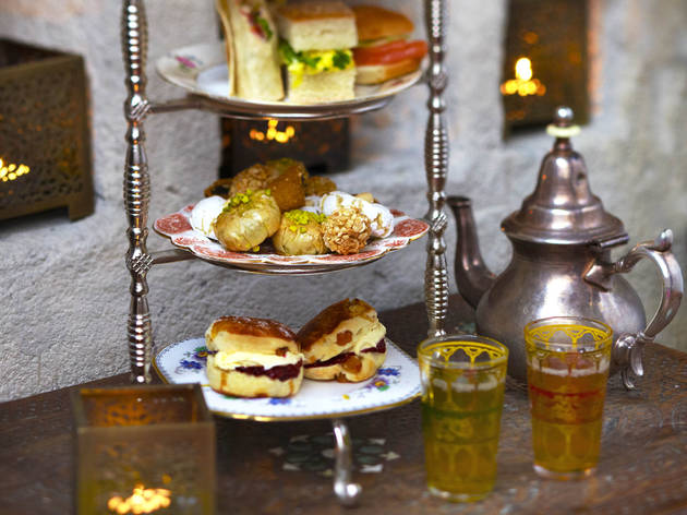Moroccan afternoon tea at Momo