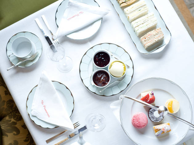 Afternoon tea at The Promenade and the Spatisserie, The Dorchester