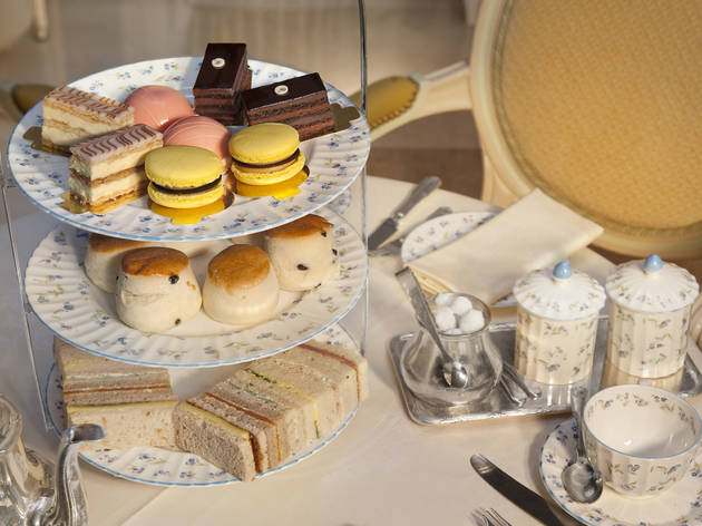 Afternoon tea at the Palm Court at the Ritz