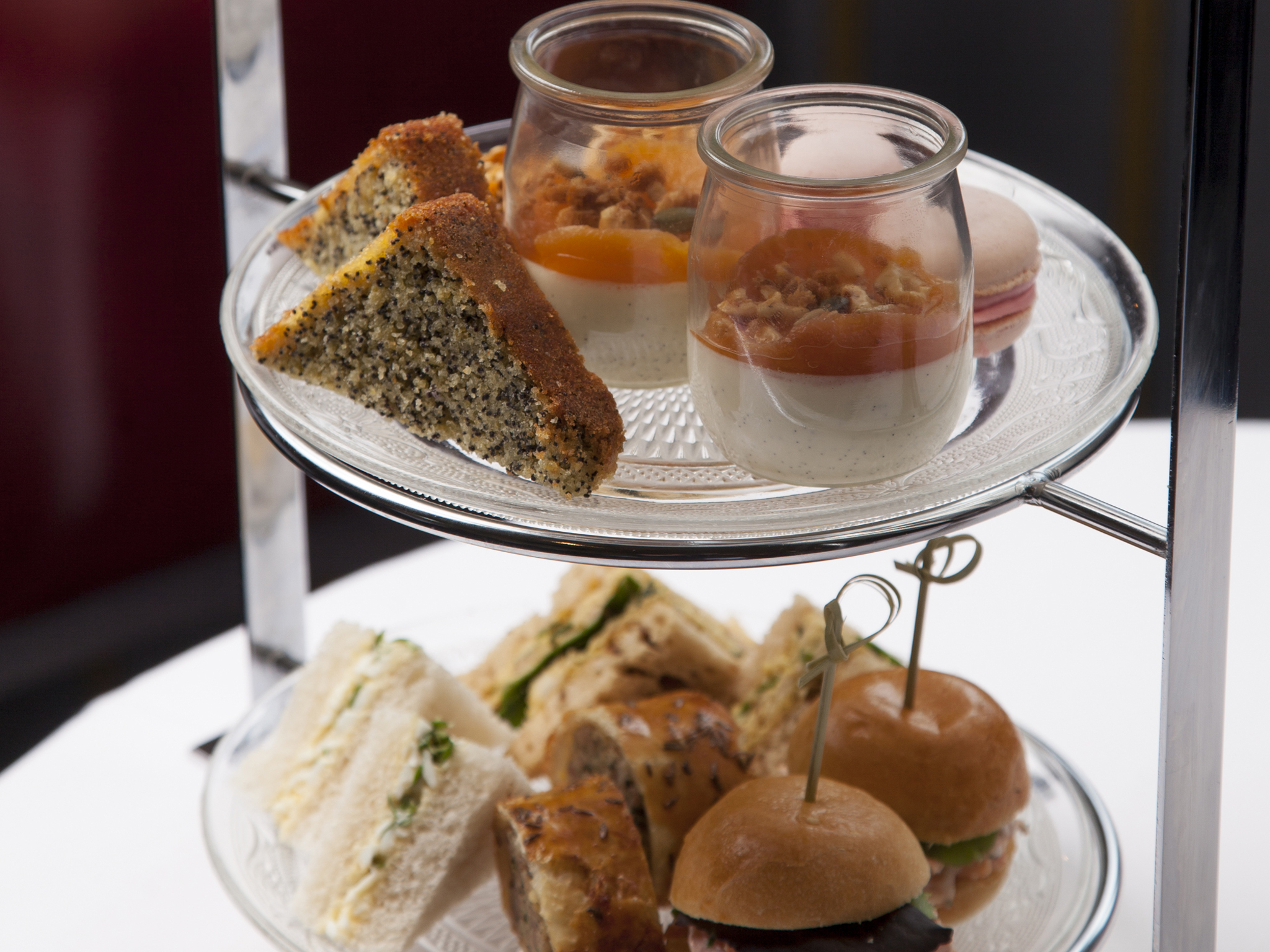 Classic afternoon tea at The Bar at The Gilbert Scott, St Pancras Renaissance Hotel