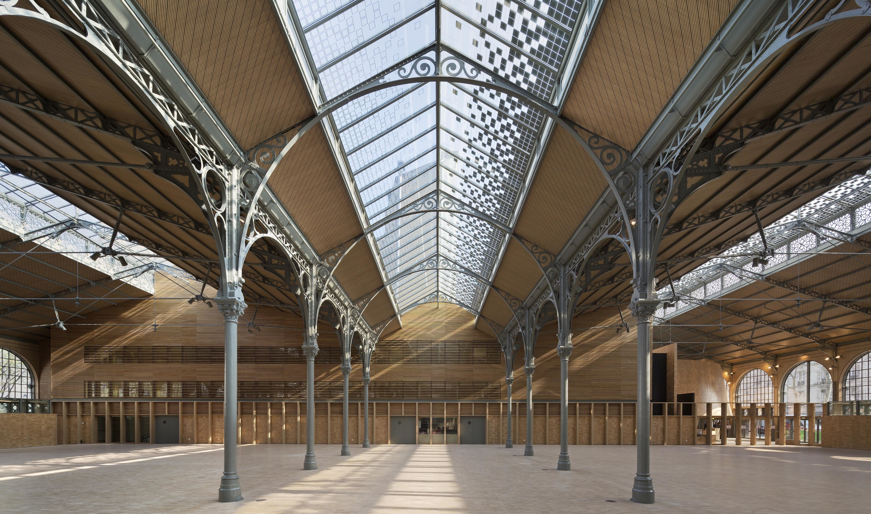 Galeristes au Carreau du Temple