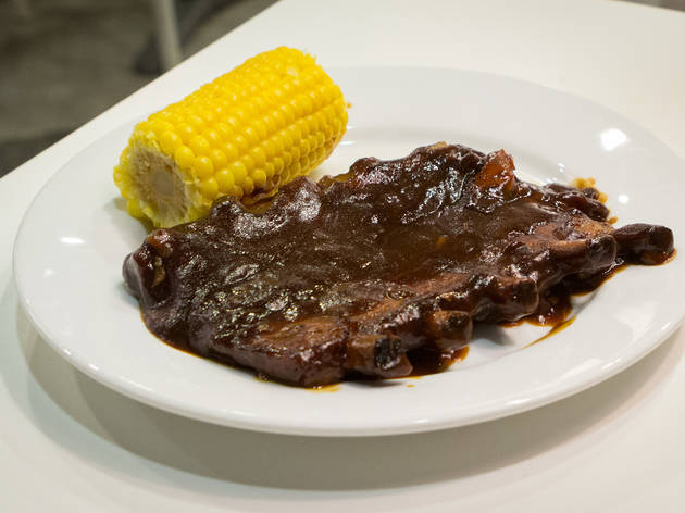 BBQ ribs at IKEA Burbank