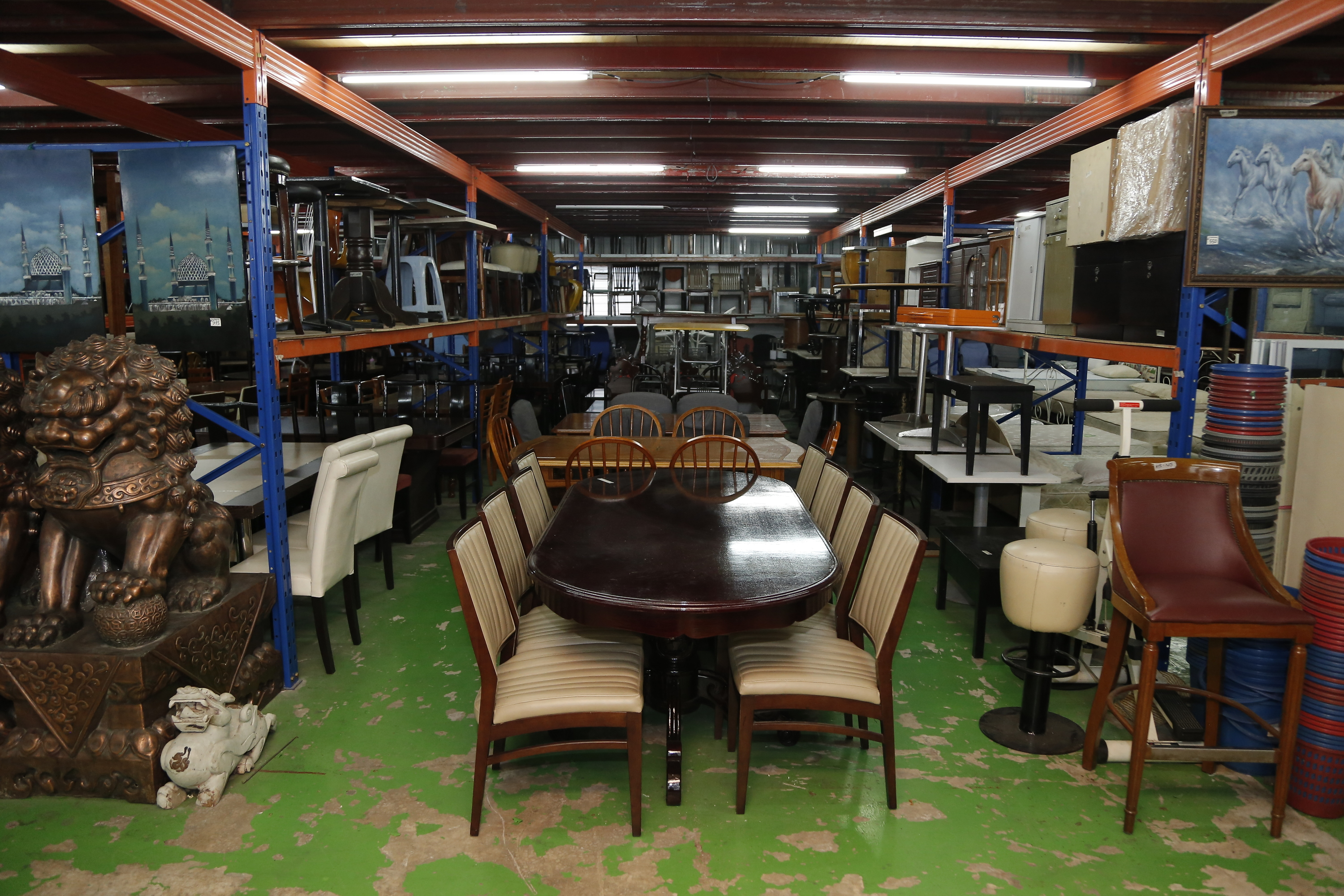 best secondhand furniture shops in KL