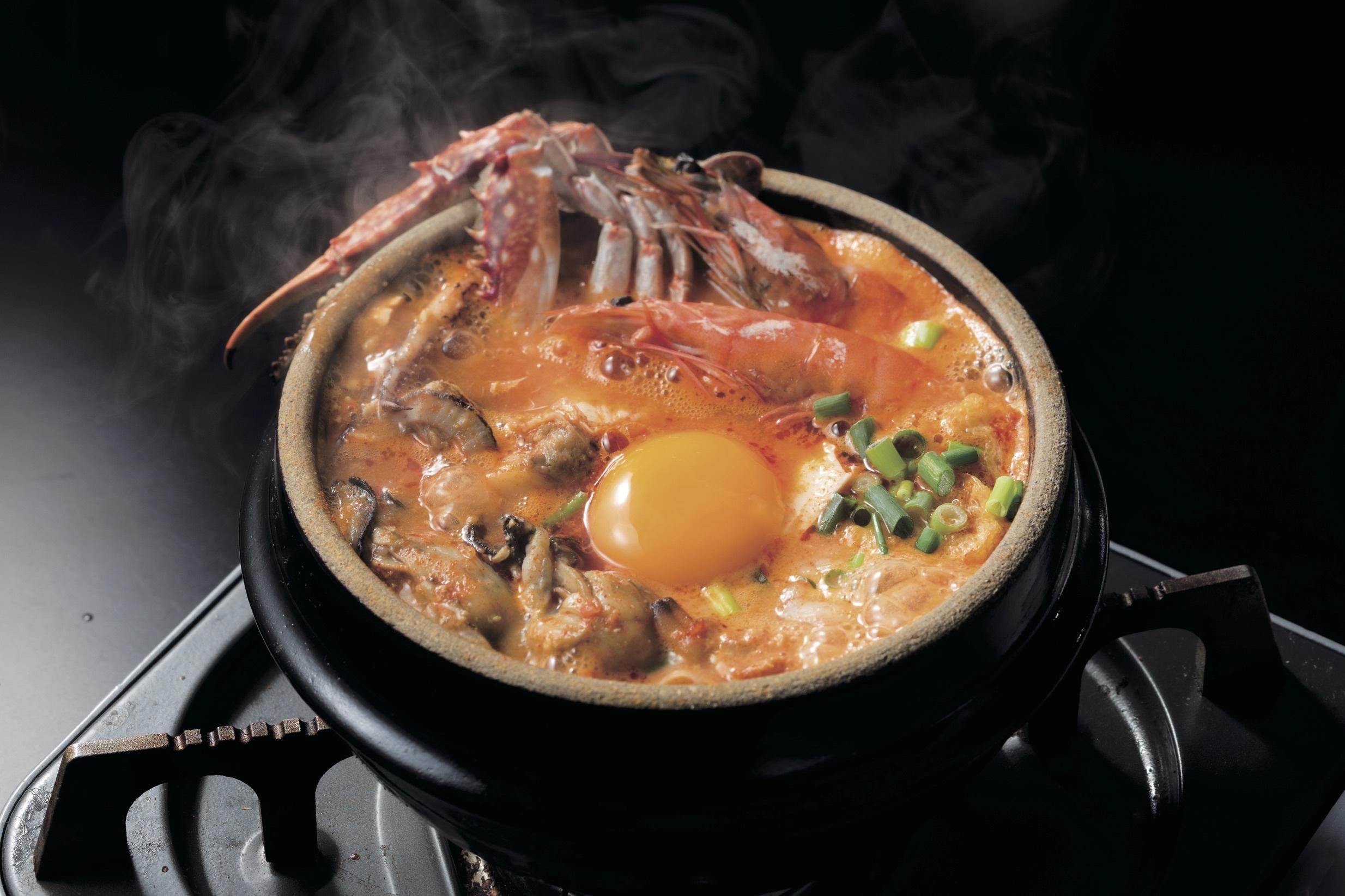 Seafood Sundubu