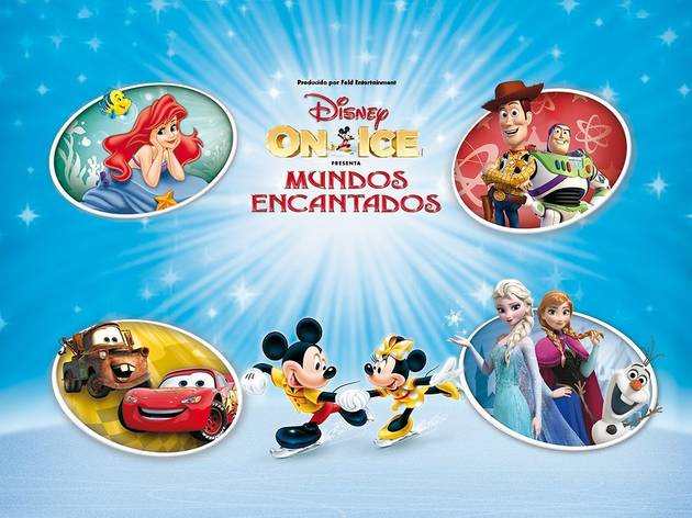 Disney on ice: Mundos encantados