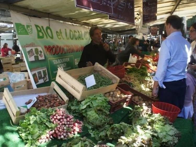 Les marchés bio