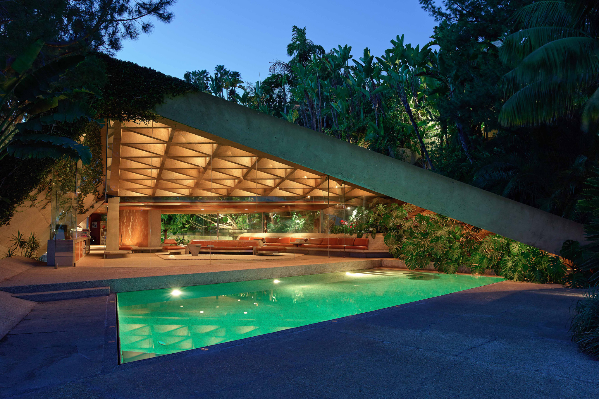 LACMA has been promised a John Lautner-designed sublime hilltop home