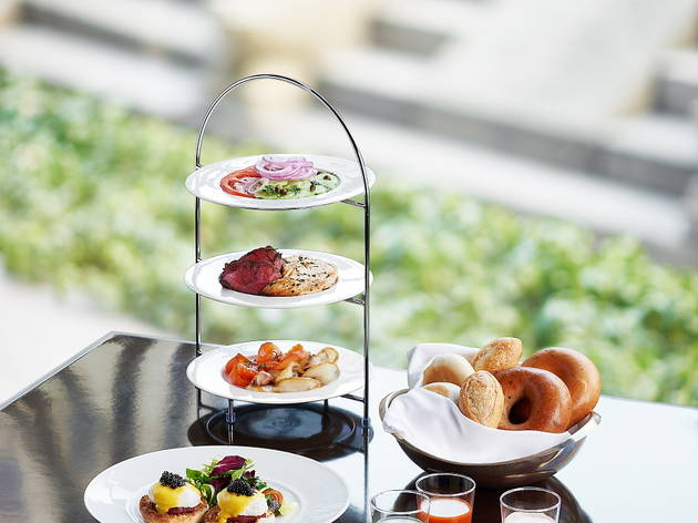 The Ninth Gate Grille Brunch Tower at the Seoul Westin Chosun