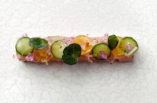 Whitegrass Sashimi of Yellowtail Amberjack