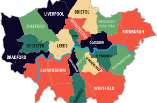 Leicester City Uk Map.Five Maps That Quantify Exactly How Rammed London Is