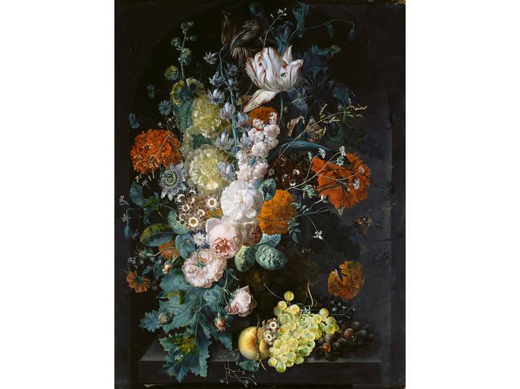 Margareta Haverman, A Vase of Flowers, 1716