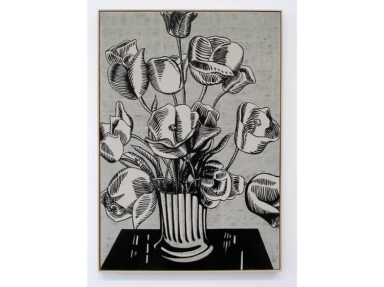 Roy Lichtenstein, Black Flowers, 1961