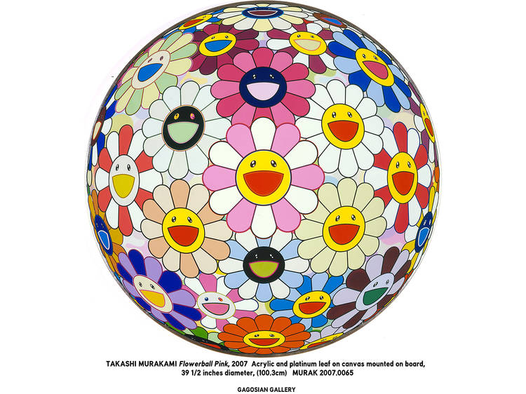 Murakami, Flowerball Pink, 2007