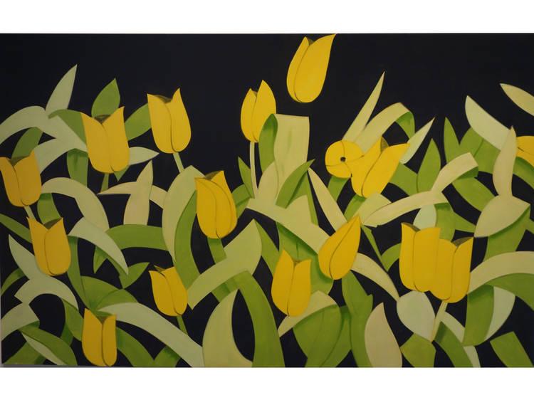 Alex Katz, Tulips 4, 2013