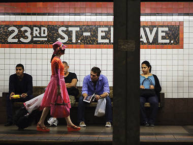 The hidden meaning behind the New York subway's colored tiles