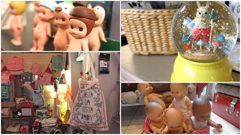 Petit guide des boutiques pour enfants