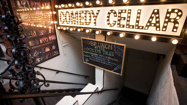 Open mic nights at Comedy Cellar
