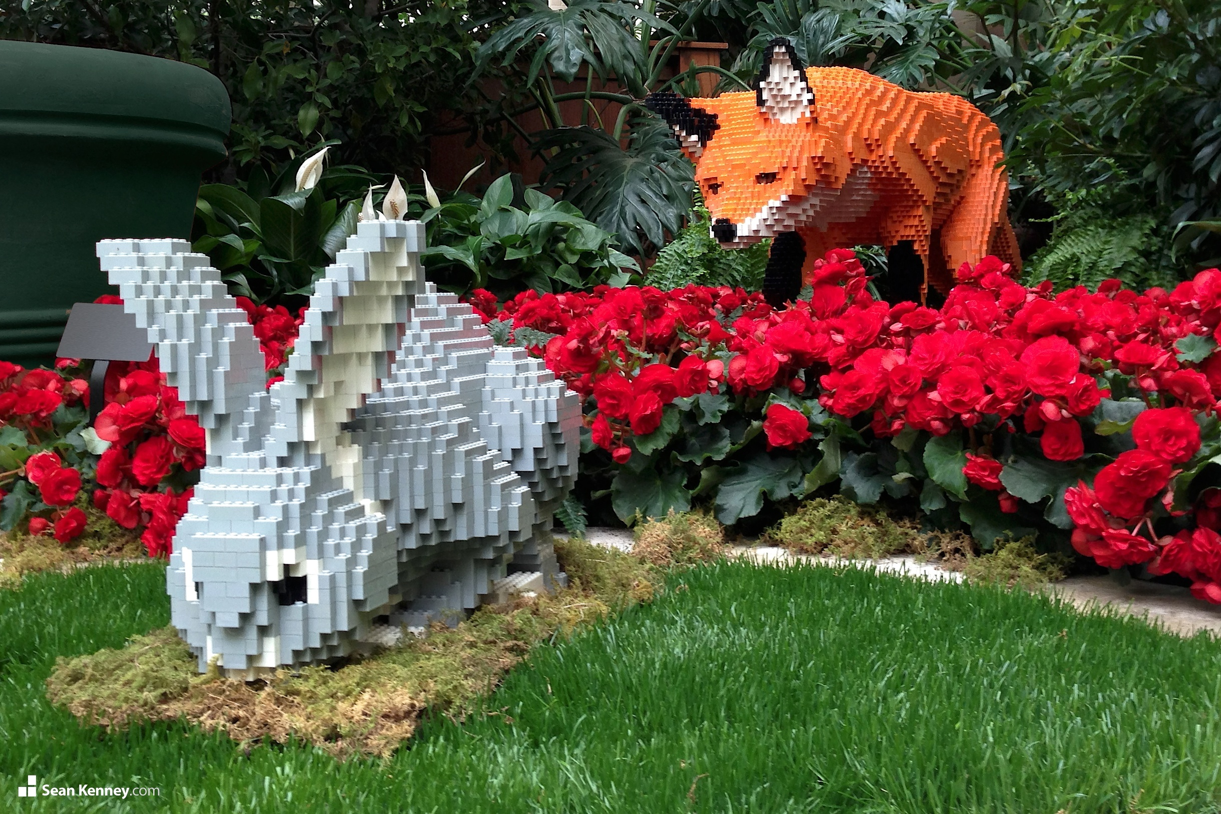 See 27 Giant Lego Statues On Display In A Botanic Garden Starting Today