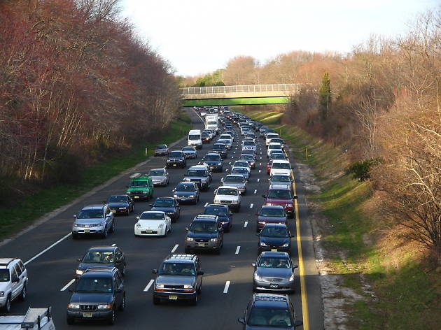 The Garden State Parkway during rush hour is the worst