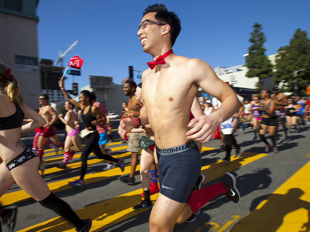 Cupid's Undie Run Los Angeles 2016