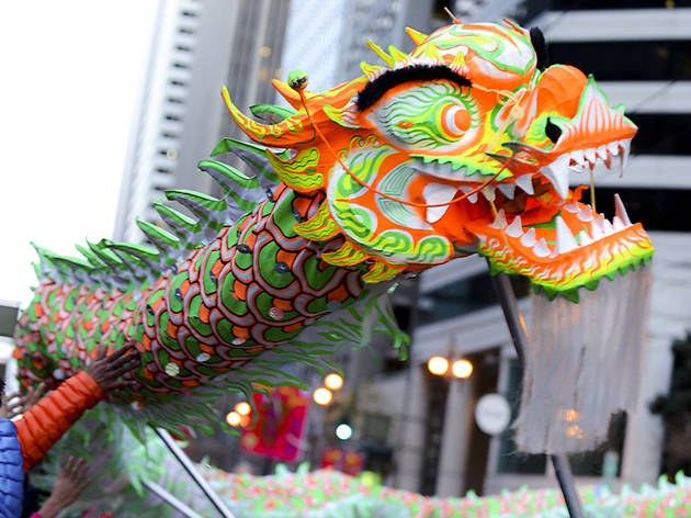 Chinese New Year Parade in San Francisco