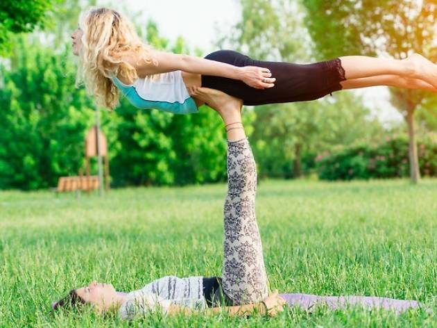 Learn How to Fly: Acroyoga Experience