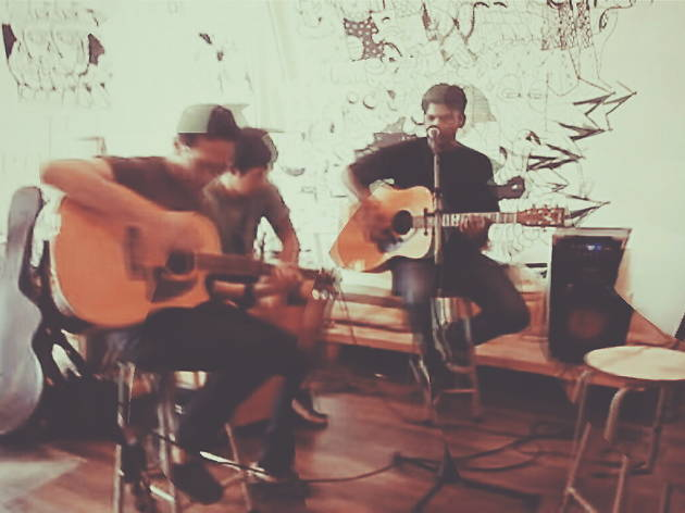 More Than Me live at Gaslight Cafe