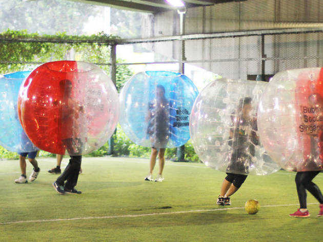 Become the Messi of Bubble Soccer