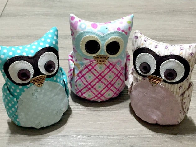 Sew Your Own Owl Plushie