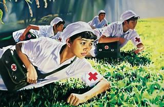 Sigg Chinese Whispers: Jing Kewen, Dream 2008, No. 1 (Nurses),