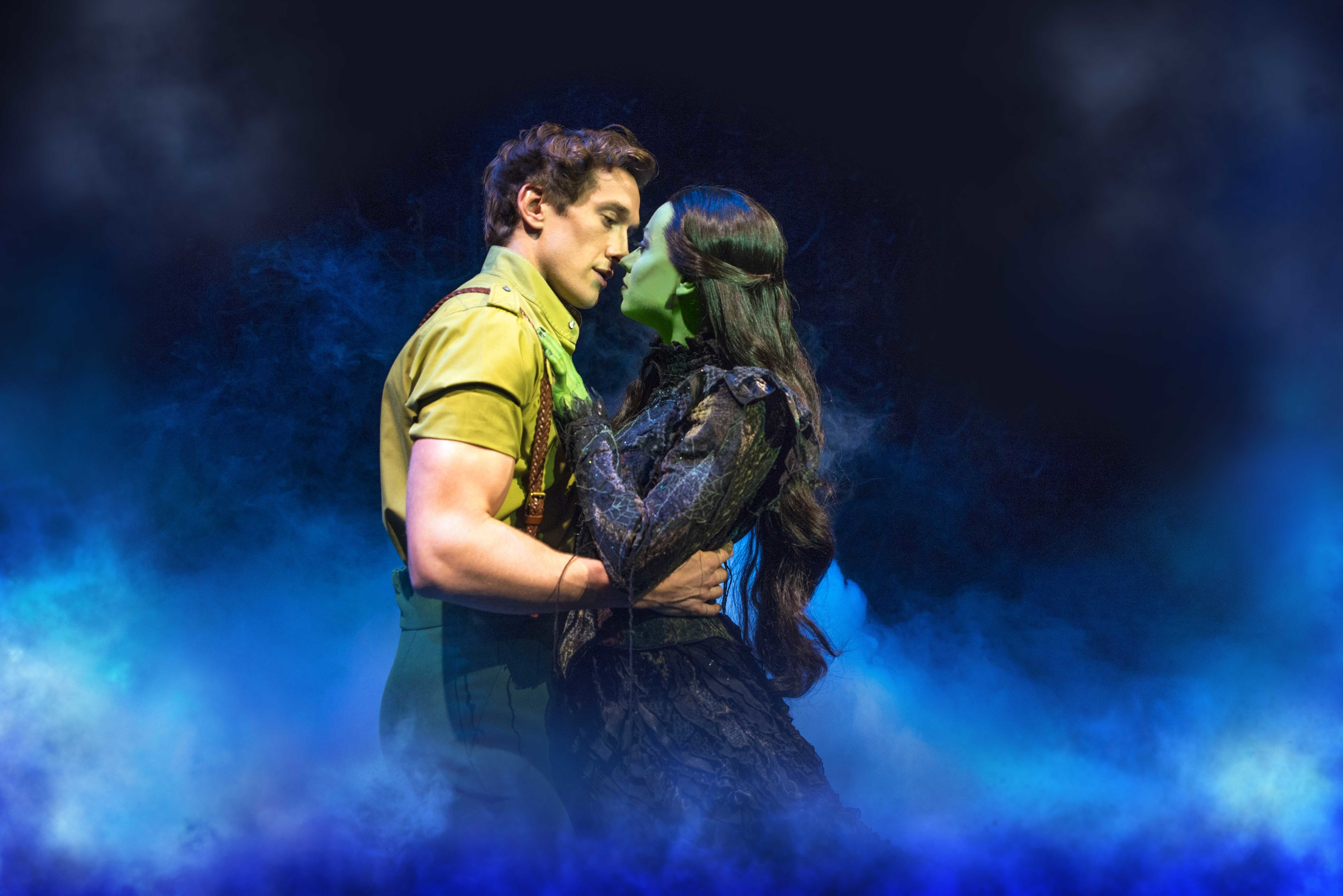 Oliver Savile and Emma Hatton in Wicked